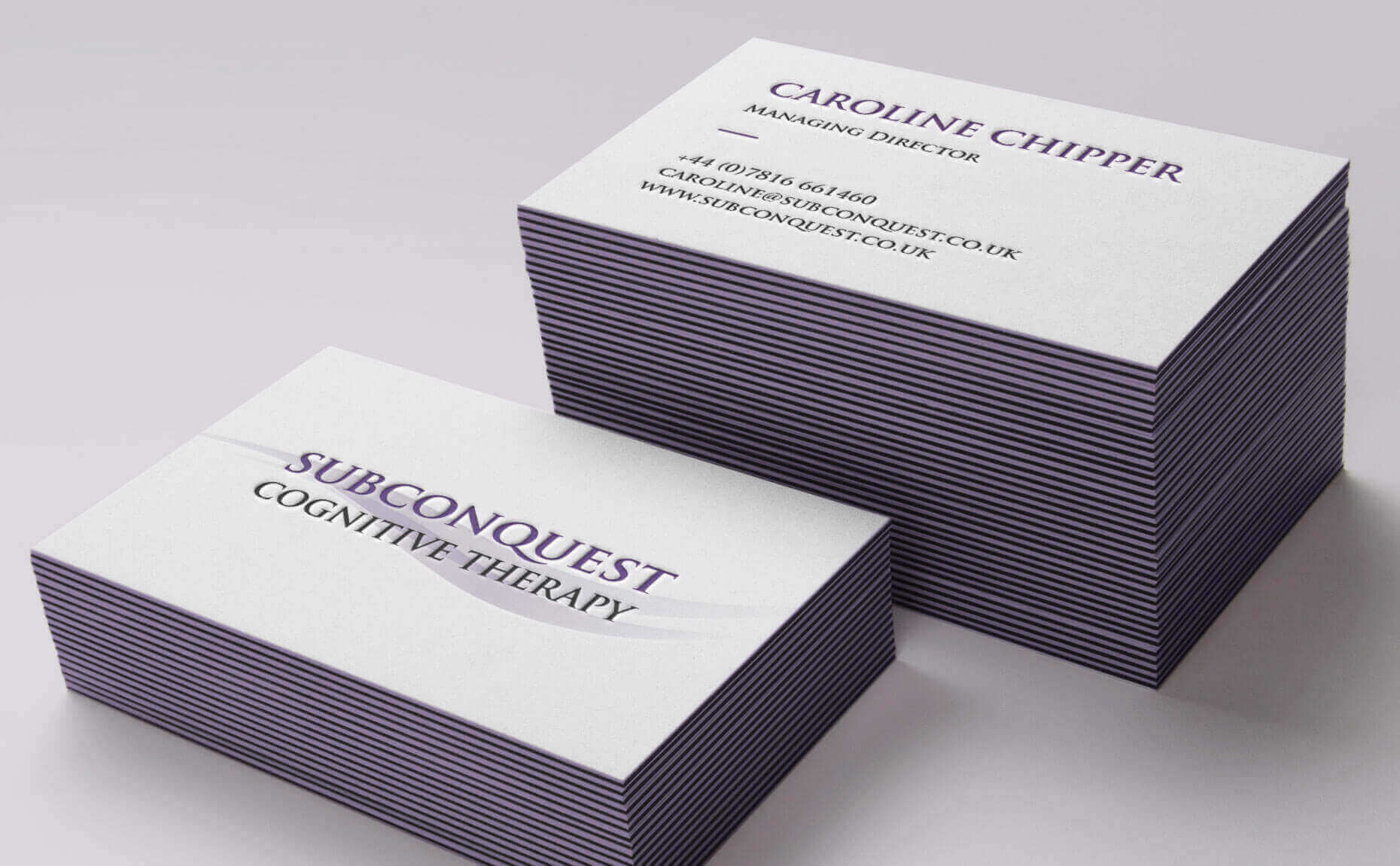 Subconquest business cards